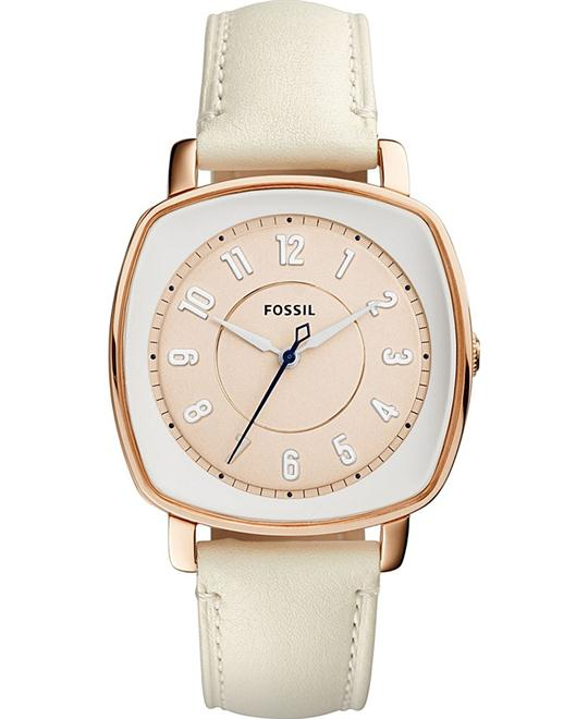 FOSSIL Idealist Beige Dial Ladies Watch 36 X 36mm