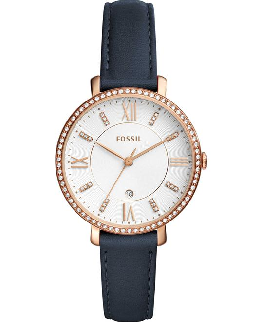 Fossil Jacqueline Rose-Gold-Tone Watch 36mm