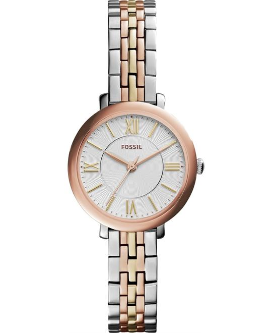 Fossil Jacqueline Small Three-Hand Watch 26mm