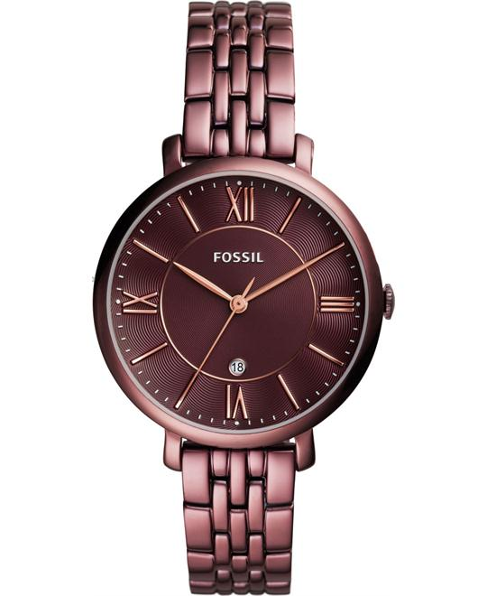 đồng hồ FOSSIL Jacqueline Wine Ladies Watch 36mm