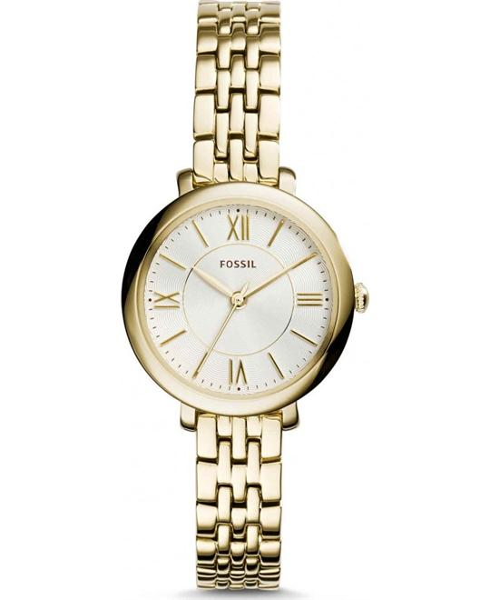 Fossil Jacqueline Women's Gold-Tone Watch 26mm