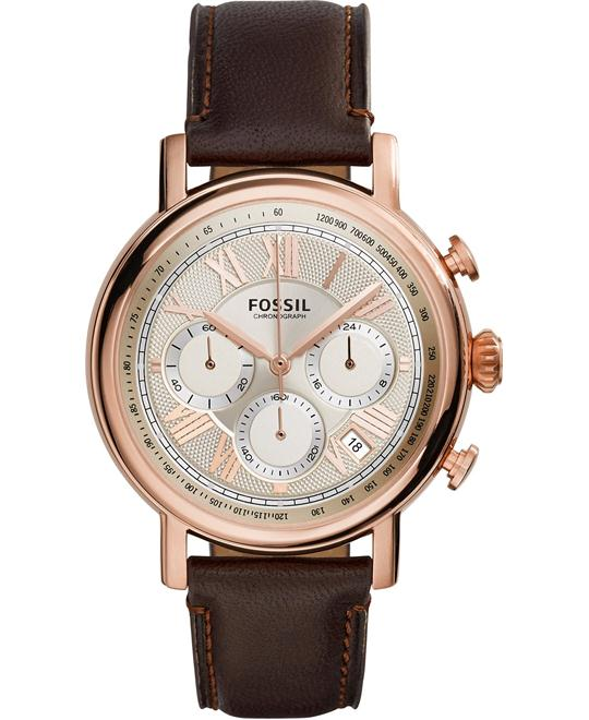 FOSSIL Buchanan Champagne Chronograph Watch 41mm