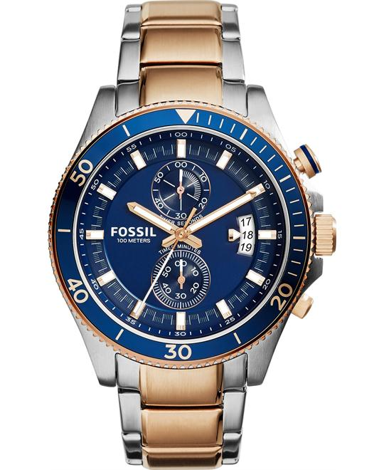 Fossil Men's Chronograph Wakefield Watch 45mm
