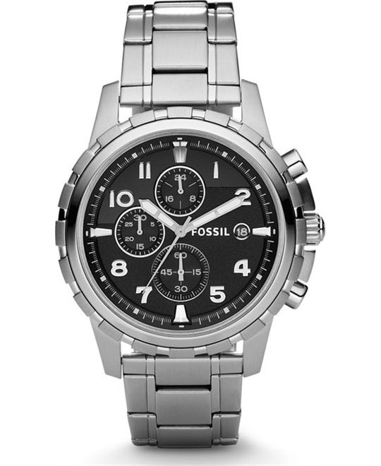 Fossil Men's Dean Chronograph Watch 45mm