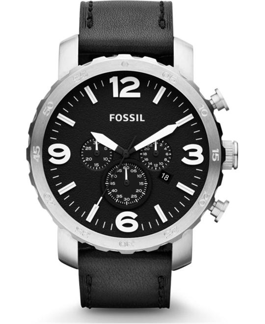 Fossil  Mens  Chronograph Watch 50mm