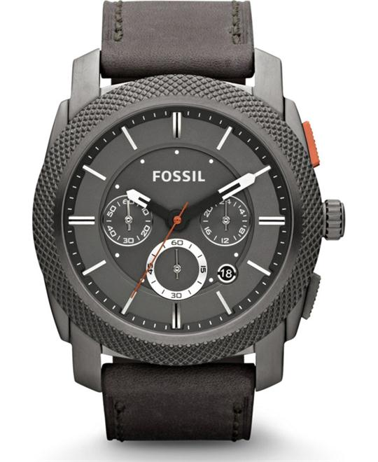 Fossil Men's Machine Analog  Watch 45mm