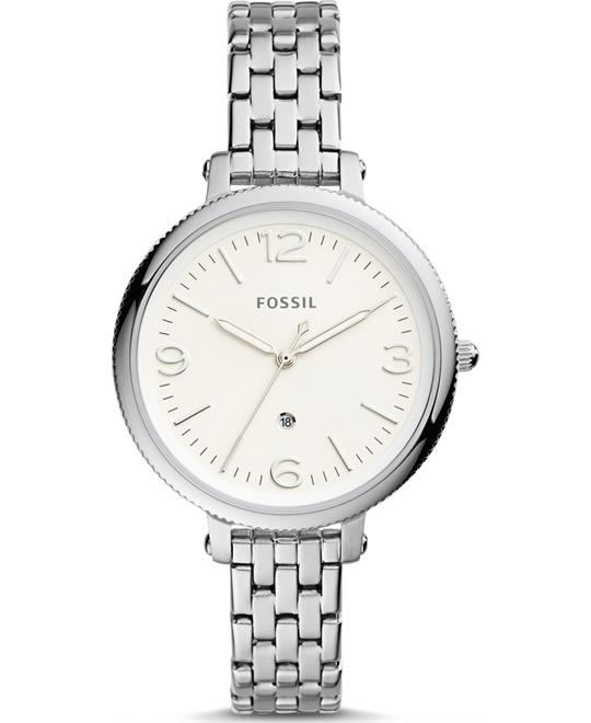 Fossil Monroe Three-Hand Date Watch 38mm