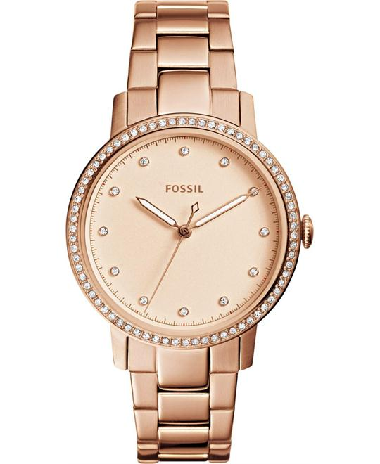 Fossil Neely Three Hand Stainless Steel Watch 35mm