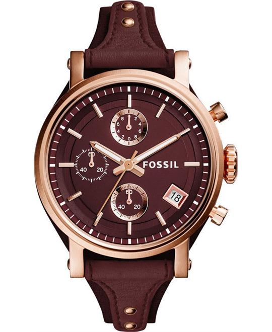 Fossil Original Boyfriend Women's Sport Chronograph Watch 38mm