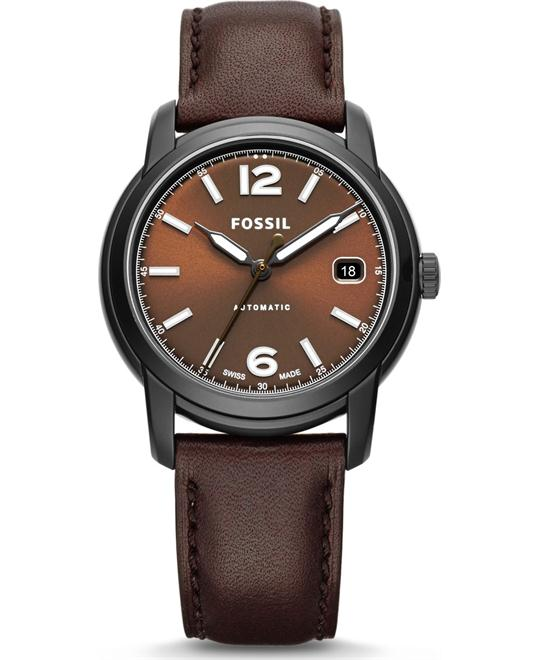FOSSIL SWISS FS-5 SERIES CHOCOLATE AUTOMATIC 38MM