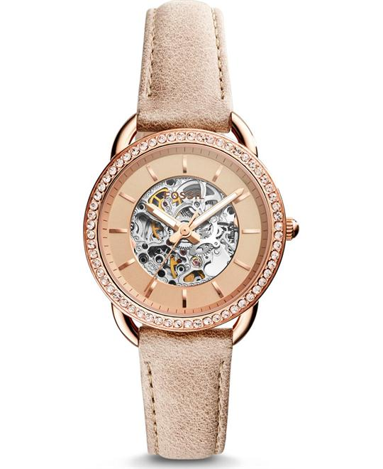 đồng hồ Fossil Tailor Automatic Three-Hand Sand Watch 35mm