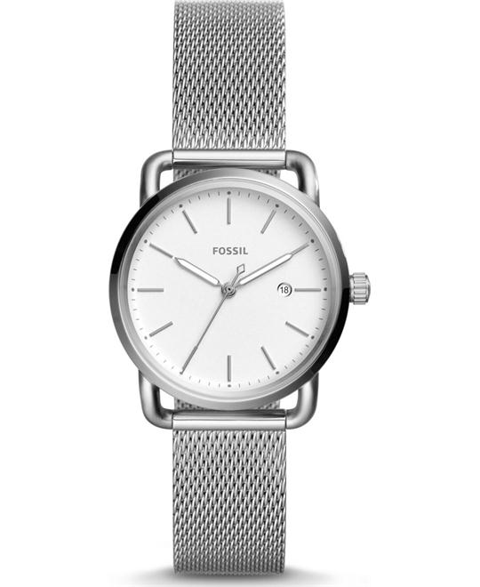 Fossil The Commuter Three-Hand Date Watch 34mm