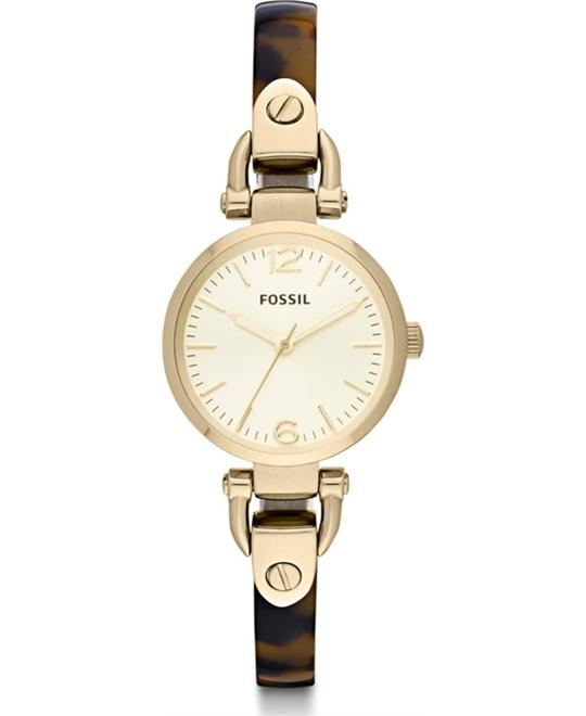 Fossil Three Hand Resin Watch  26mm