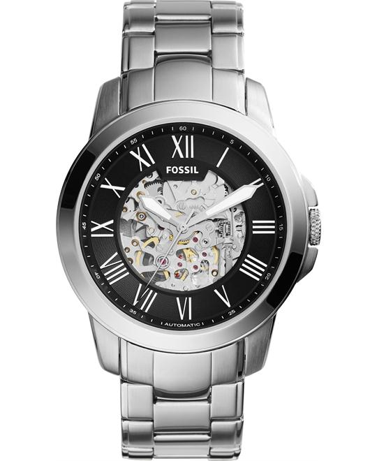 Fossil Townsman Automatic Stainless Steel Watch 45mm