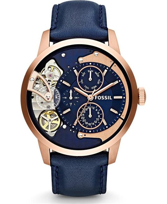 FOSSIL Townsman Navy Blue Multifunction Watch 44mm