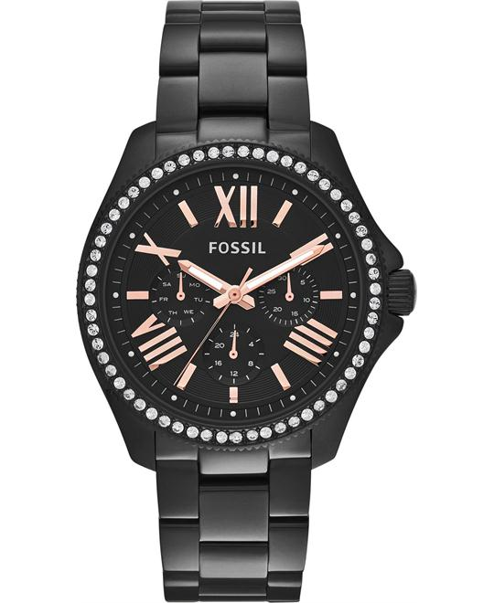 Fossil Women's Cecile Black-Tone Watch 40mm