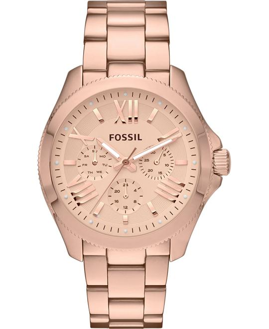 Fossil Women's Cecile Rose Gold-Tone Watch 40mm