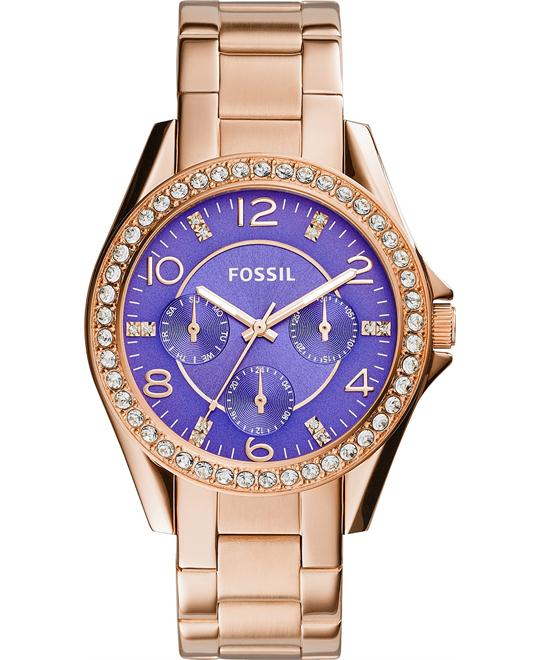 Fossil Women's Riley Multifunction Watch 38mm