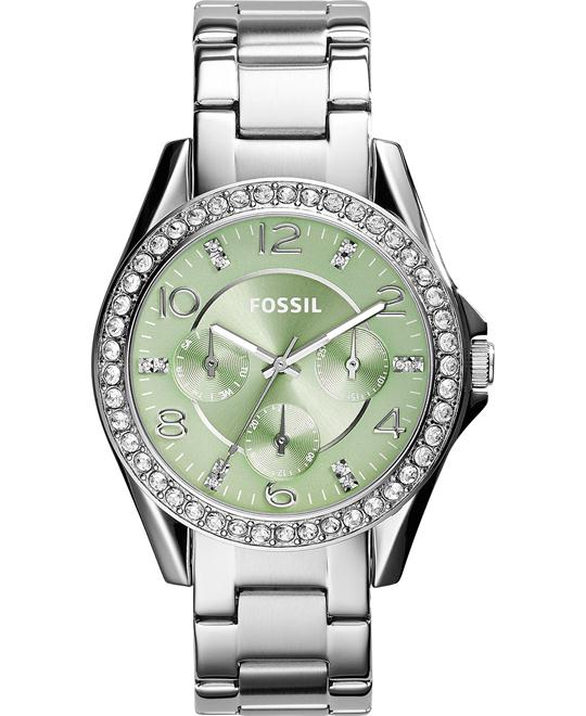 Fossil Women's Riley Stainless Steel Watch 38mm