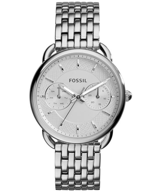 Fossil Tailor Stainless Steel Bracelet Watch 35mm