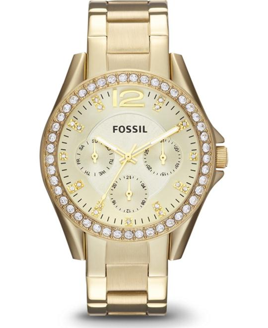 Fossil Women's  Gold-Tone Watch 37mm