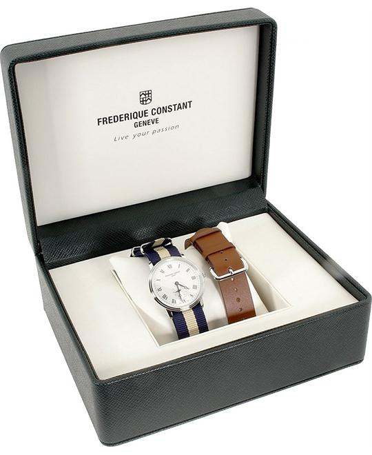 Frederique Constant FC-235M4S6NVYBGSET Slimline Watch 37mm