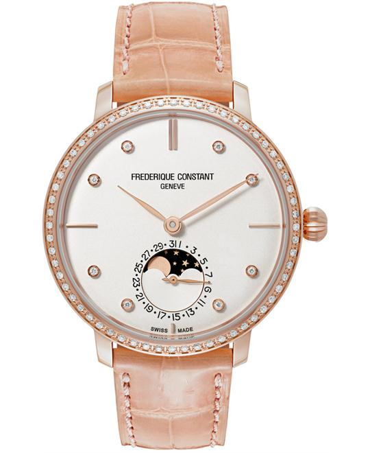 Frederique Constant FC-703VD3SD4 Slimline Moonphase 38.8mm