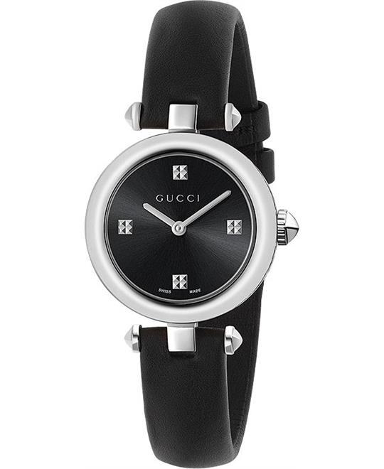 Gucci Diamantissima Black Ladies Watch 27mm