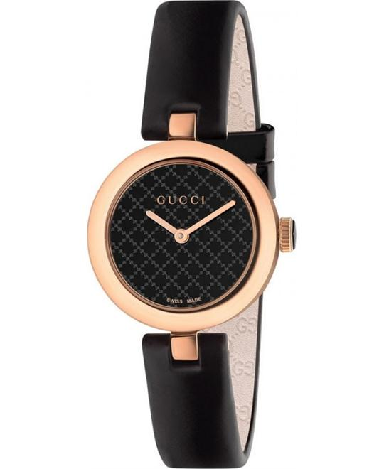 GUCCI Diamantissima Leather Strap Ladies Watch 27mm