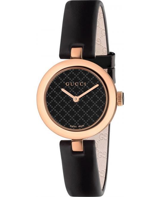 GUCCI Diamantissima Leather Strap Ladies Watch 27mm