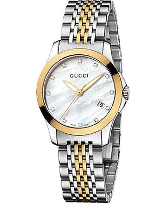 GUCCI G - Timeless  Diamond Ladies Watch 27mm