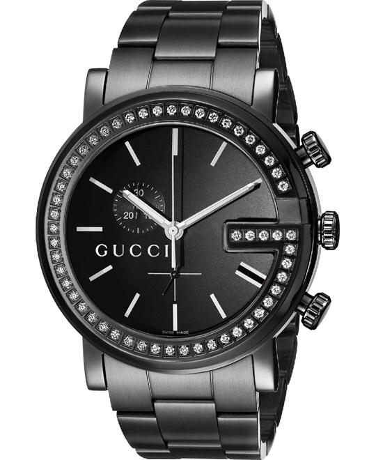 Gucci G-Chrono Men's Diamond Watch 44mm