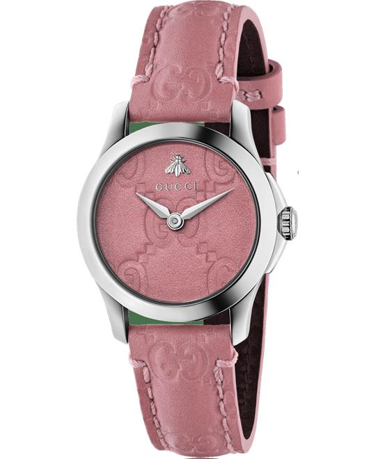 GUCCI G-Timeless Candy Pink Watch 27mm