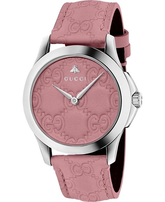 GUCCI G-Timeless Candy Pink Watch 38mm
