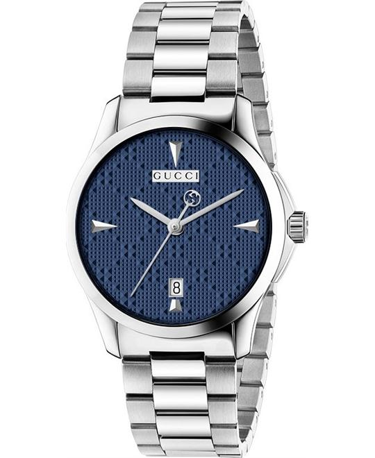Gucci G-Timeless Diamante Blue Dial Unisex Watch 38mm