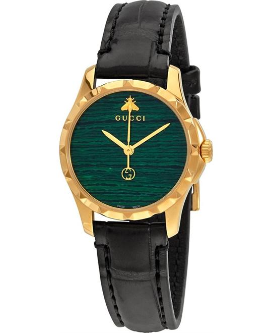 GUCCI G-timeless Green Dial Watch 27mm