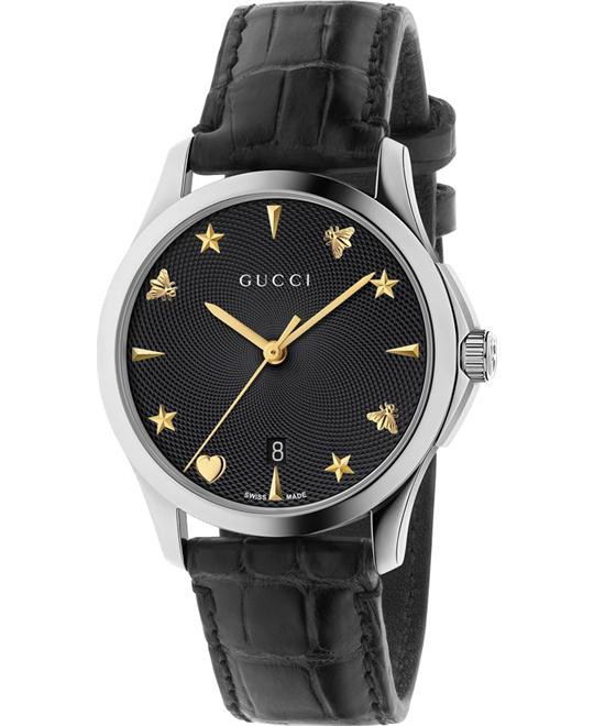 GUCCI G TIMELESS PVD AUTOMATIC WATCH 38MM