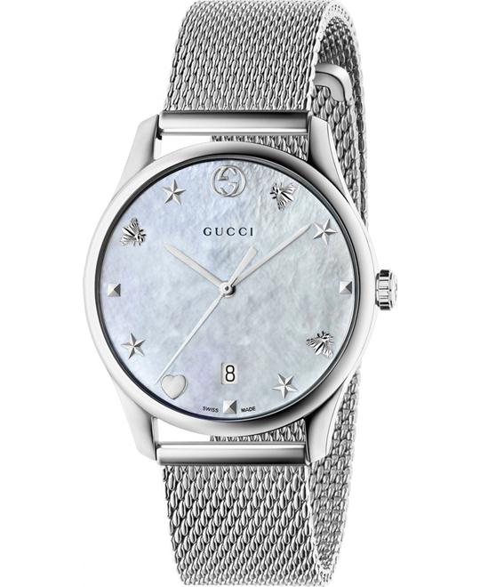 Gucci G-Timeless Swiss Watch 36mm