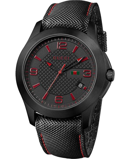 GUCCI G Timeless YA126224 Men's Watch 44mm