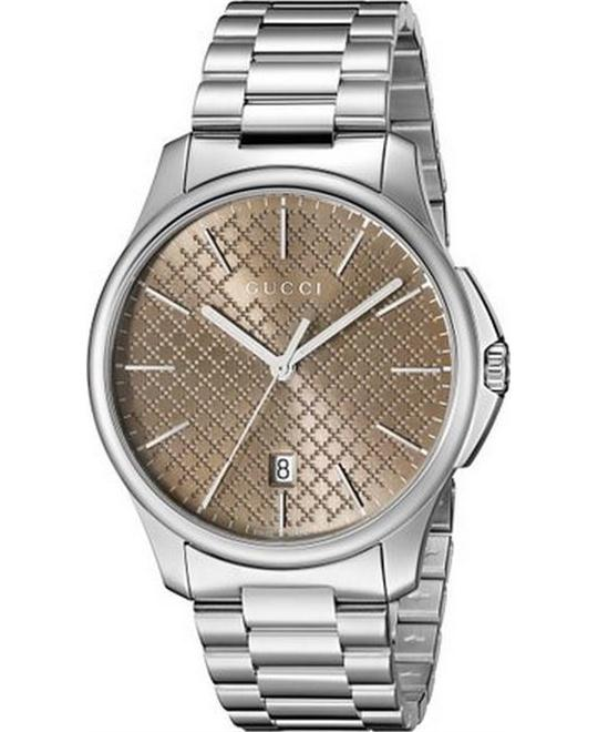 GUCCI G-Timeless  Brown Dial Men's Watch 40m