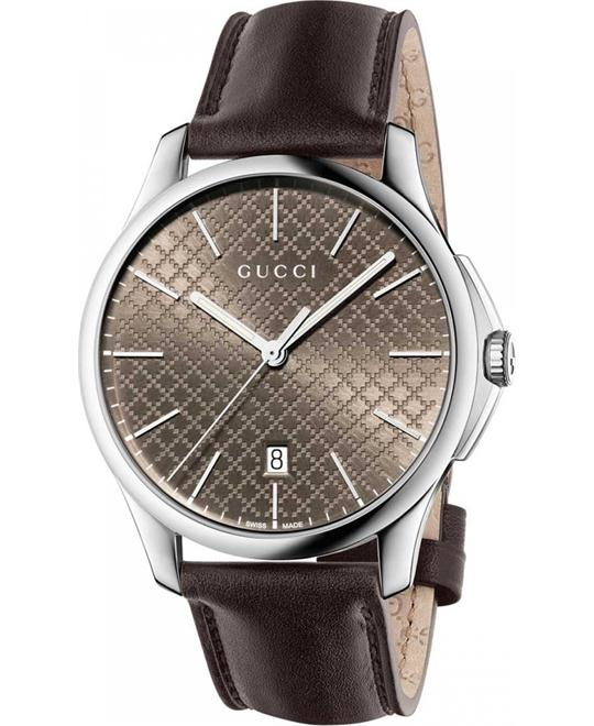 GUCCI G-Timeless Diamond Pattern Watch 40mm