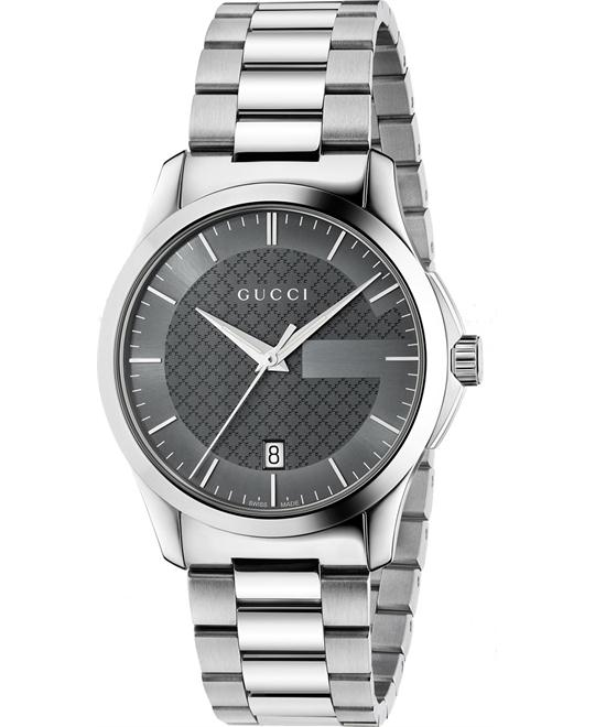 đồng hồ GUCCI G-Timeless Grey Unisex Watch 38mm