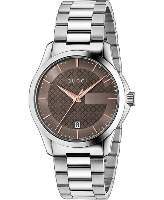 GUCCI G-Timeless  Brown Dial Men's Watch 38mm
