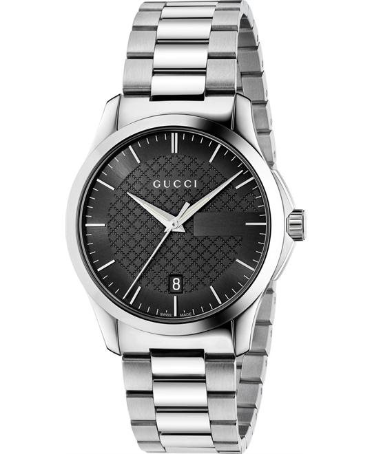GUCCI G-Timeless Black Dial Unisex Watch 38mm