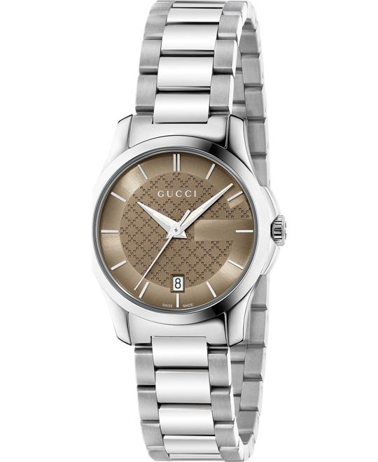 GUCCI G-Timeless  Brown Dial Ladies Watch 27mm