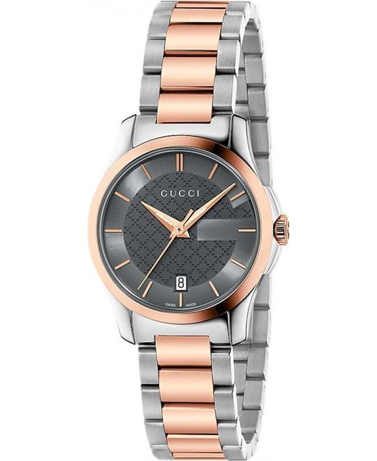 GUCCI G-Timeless  Grey Dial Ladies Watch 27mm