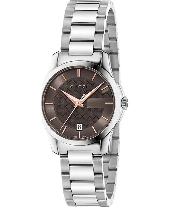 GUCCI G-Timeless  Brown Dial  Ladies Watch 27,
