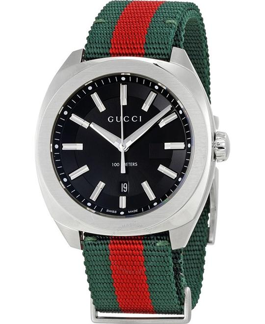 đồng hồ Gucci GG2570 Black Dial Watch 40mm