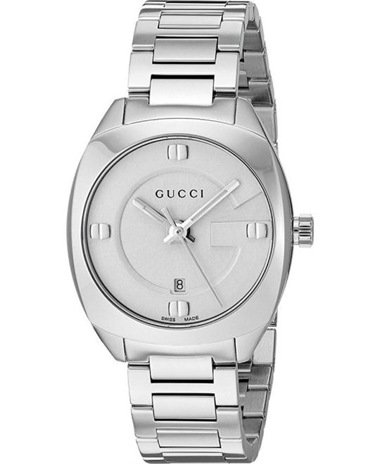 đồng hồ GUCCI GG2570 White Dial Ladies Watch 29mm