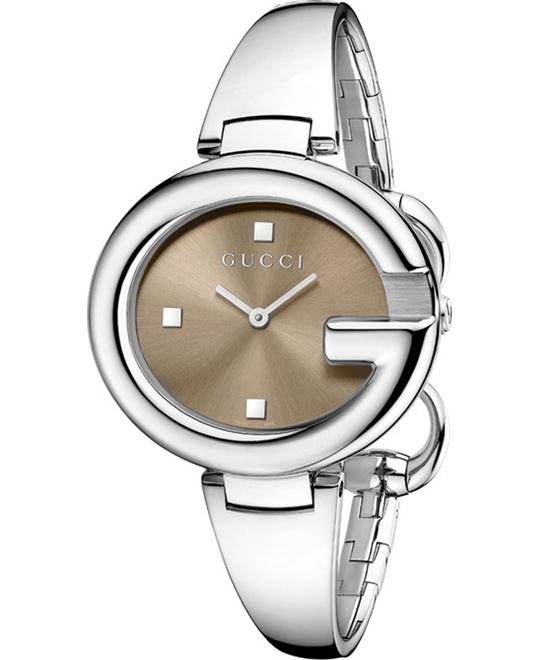 GUCCI Guccissima YA134302 Brown Ladies Watch 36mm